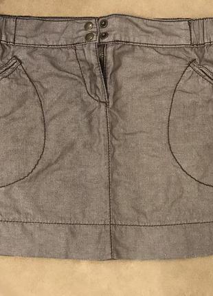 Очень классная короткая летняя юбка sisley