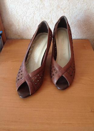 Туфли кожаные new look