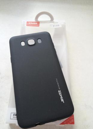 Чехол для samsung j710 black (силикон)