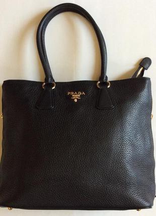 Женская сумка prada кожа