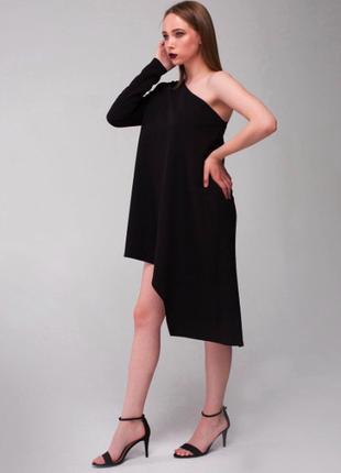 Платье  туника симметрия на одно плече
