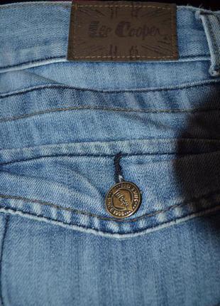 Lee cooper стильные мужские джинсы4