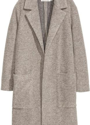Пальто h&m oversize