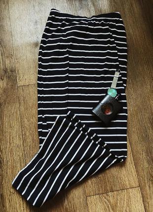 Крутая длинная юбка only