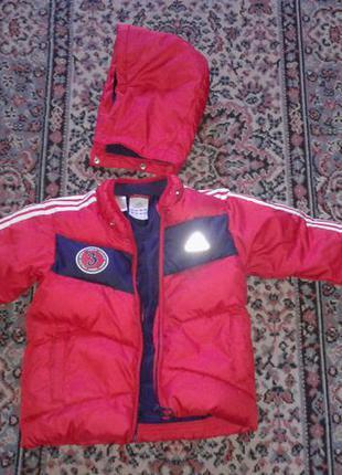 Куртка пуховик, унисекс, оригинал