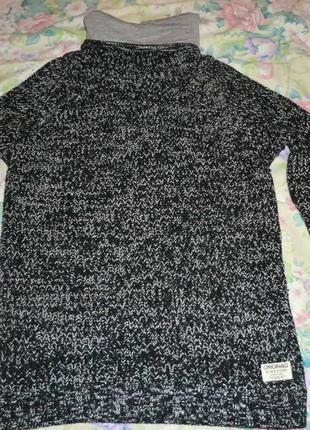 Брендовый теплый свитер jack & jones, сток