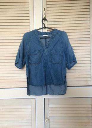 Блуза джинсова