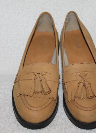 Туфли кожа-нубук dune 39р