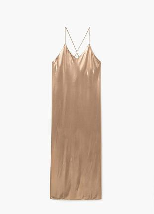 Шикарное длинное макси платье mango