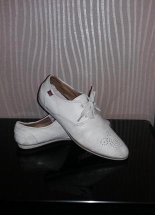 Летние туфли-броги-мокасины