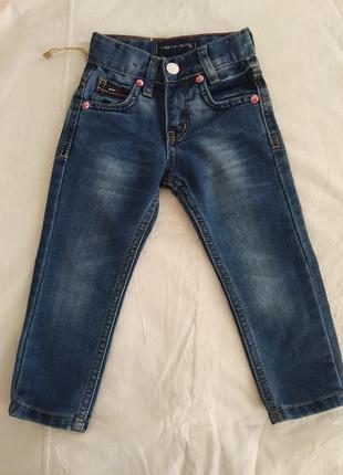 Класснячие детские джинсы на рост 86см.