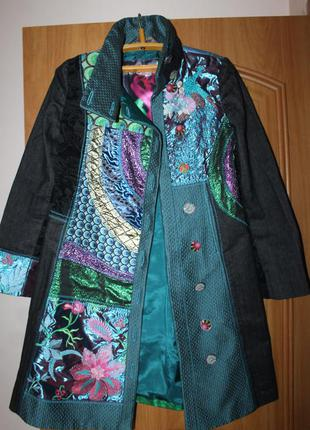 Пальто от известного бренда desigual