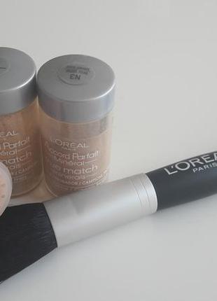 Пудра рассыпчатая l'oreal paris true match minerals powder