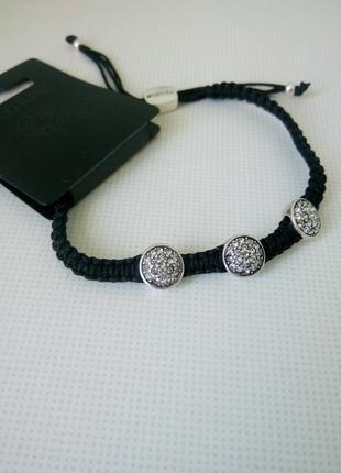 Фенечка браслет кристаллы сваровски pilgrim pilgrim