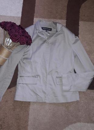 Стильный котоновый пиджак -жакет  warehouse