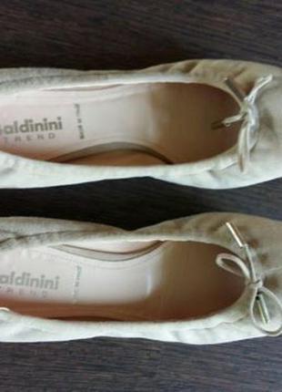 Туфли балетки baldinini натуральная кожа