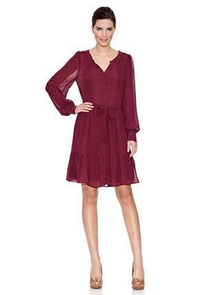 Шикарное платье naf naf m-l