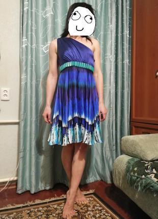 Шелковое платье италия gizia оригинал!!!