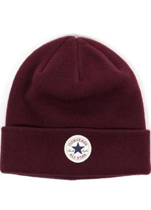 Тёплая шапка converse