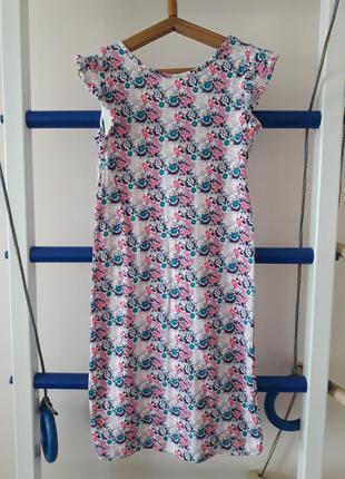 Платье платья на 9-11лет 134-140 р.
