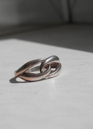 Серебряное кольцо accessorize