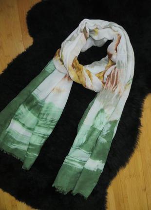 Объемный шарф или палантин