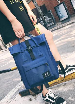 Большое синий рюкзак