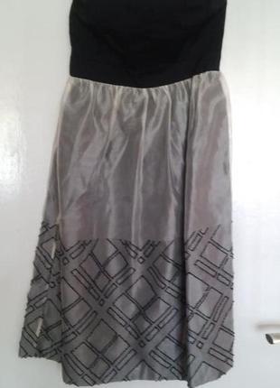 Платье бюстье zara xs