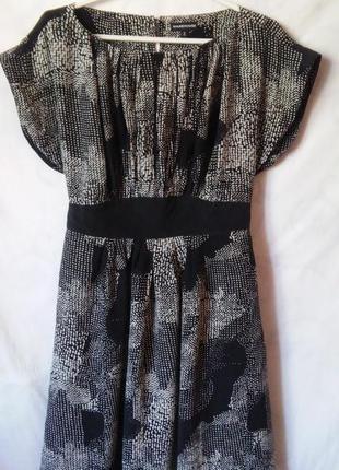 Шелковое платье 100% шелк от warehouse