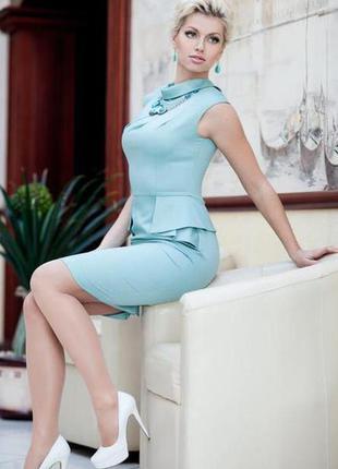 Дизайнерское элегантное платье на выпускной, торжество, деловое