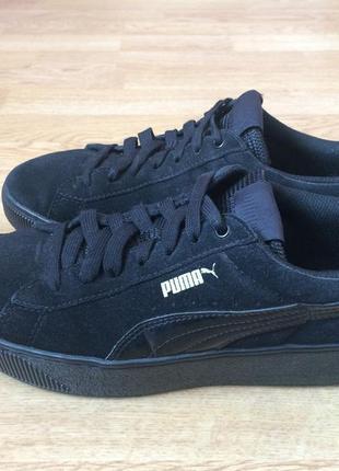 Замшевые кроссовки puma оригинал 37 размера в отличном состоянии