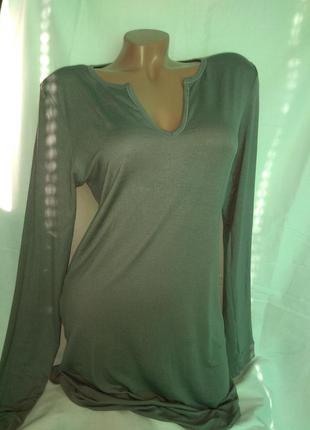 Ночная рубашка ночнушка с длинным рукавом, р. m ,calvin klein