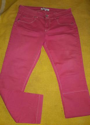 Джинсы розовые fitt originals размер 42