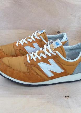Замшевые кроссовки new balance 420 ( 39 размер )