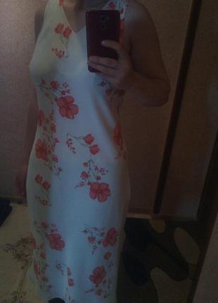 Невероятно легкое нежное платье4