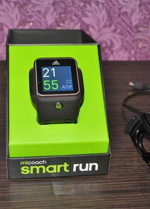 Часы adidas micoach smart run с пульсометром mio (оригинал)