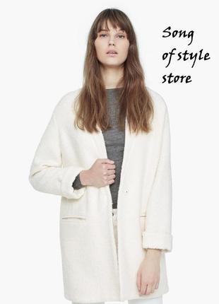 Mango стильное шерстяное пальто,  р. xs, s