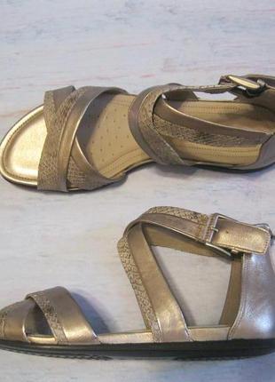 Босоножки гладиаторы ecco, 39 р, кожа