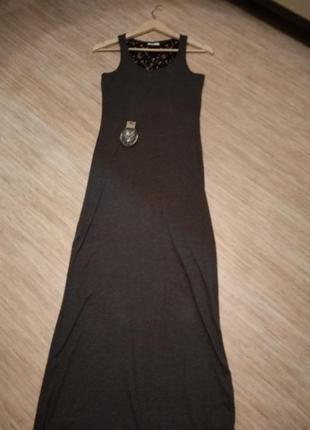 Платье длинное летнее, размер s