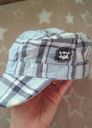 Отличная хлопковая кепка панама от george на 1-3  года