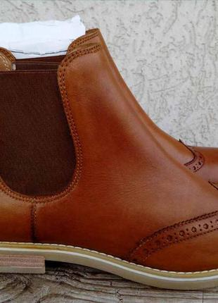 Ботинки челси pier one кожа англия 42р