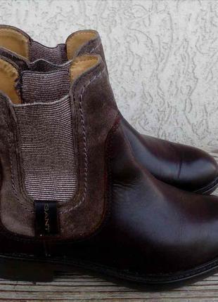Ботинки челси gant сша кожа 37р