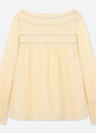 Блуза uniqlo размер с и м