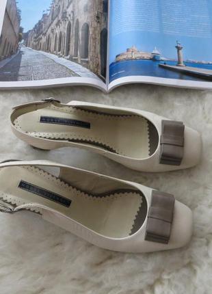 Элегантные туфли modus vivendi с открытым задником, устойчивый каблук
