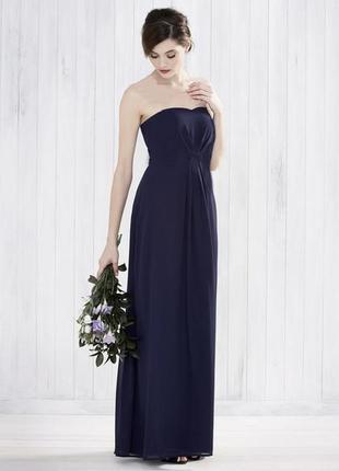 Monsoon.платье макси.трансформируется в стили: бюстье, халтер, греческий стиль.