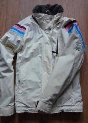 Зимняя горнолыжная куртка roxy. размер л. рукав реглан от шеи 76. подмышки 53. длина 66.