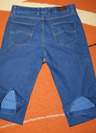 Класические фирменные джинсы bugatti, пот 43см.