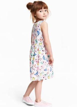 Платье на девочку h&m р. 122-128 (6 - 8 лет) хлопок 100%