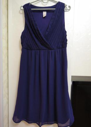 Шикарное летнее платье р.44 - 46 (м) vila (индия), оригинал