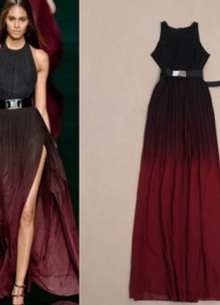 Платье с градиентом купить